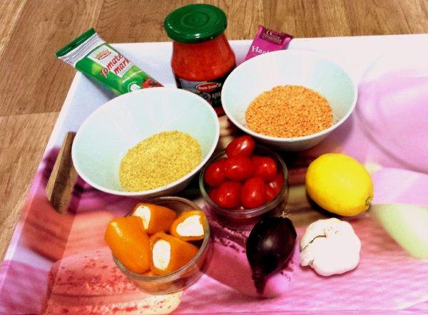 Linsen-Bulgur Salat 1